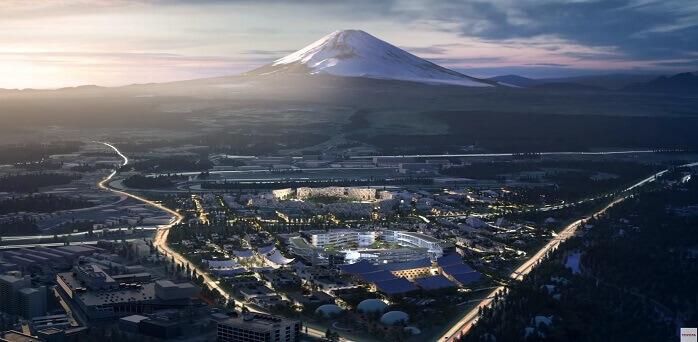 トヨタのWoven Cityは富士山の麓